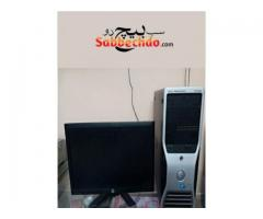 Used Dell T3500 Xeon with lcd,keyboard and mouse For sale