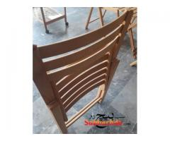Beach Wood Folding Chairs