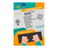 Earn extra money by just doing data entry online job anywhere in PAK