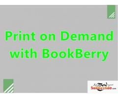 Print on Demand with BookBerry | PDF Book Printing