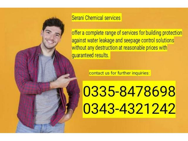 Water Proofing in Karachi. Serani Chemical services