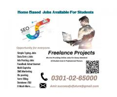 Part time home base online job for students – Multiple data entry job