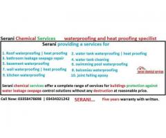 Roof heat proofing and waterproofing services in Karachi, Sindh