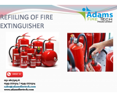 REFIILING OF FIRE EXTINGUISHER