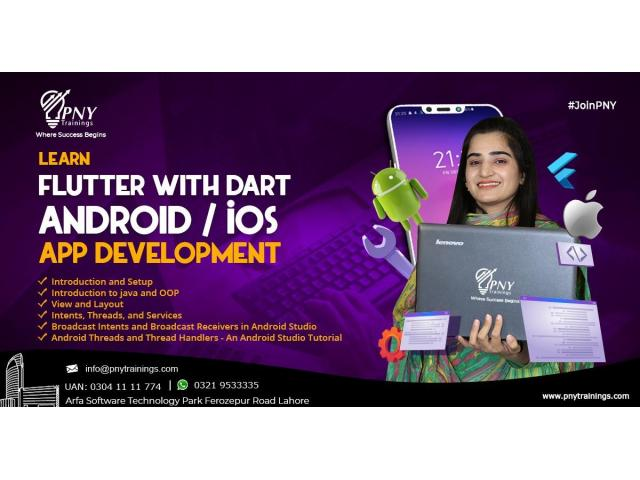 Learn Flutter with Dart Android / iOS App Development
