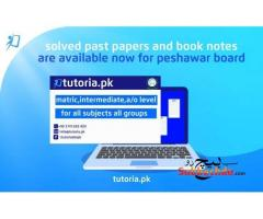 Peshawar Board Solved Past Papers and Booknotes
