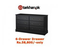 6-Drawer Dresser - Buy Furniture Online... FREE Home Delivery in