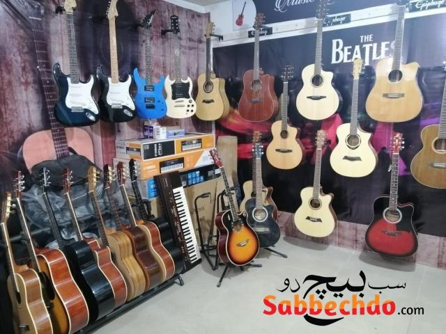 Acoustic Guitar at Octave Guitar Shop and Music Lessons Islamabad