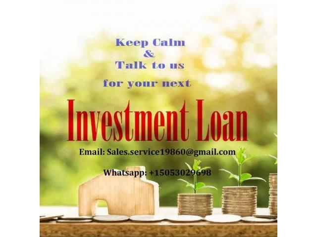 LOAN OFFER AND INVESTMENT FOR ALL YOUR PROJECT