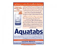 Chlorine tablets for Naegleria Protection Aquatabs
