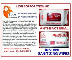 Feel Safe Antibacterial Sanitizing Wipes With Cap Excellent Quality