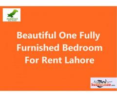Beautiful One Fully Furnished Bedroom For Rent