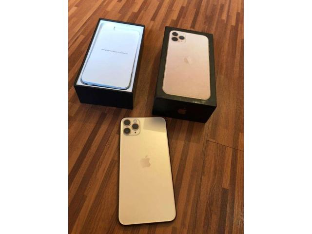 Apple iphone 11 pro-max 512gb gold........contact for price