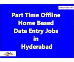 *Part Time Offline Home Based Data Entry Jobs in.