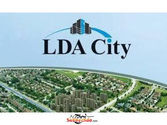 In Lda City , one Kanal Awesome Corner Plot For Sale