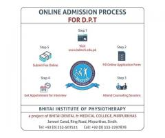 Bhitai Institute of Physiotherapy & Rehabilitation Sciences, Mirpurkhas