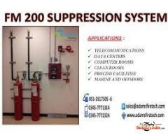 FM 200 SUPPRESSION SYSTEM - ADAMS FIRE TECH