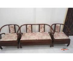 4 Seat Wooden Sofa for Sale