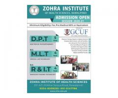 Zohra Institute of Health Sciences. DPT,MLT ,RIt