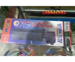 Aquarium accessories available like air pump,filter,heater,plants